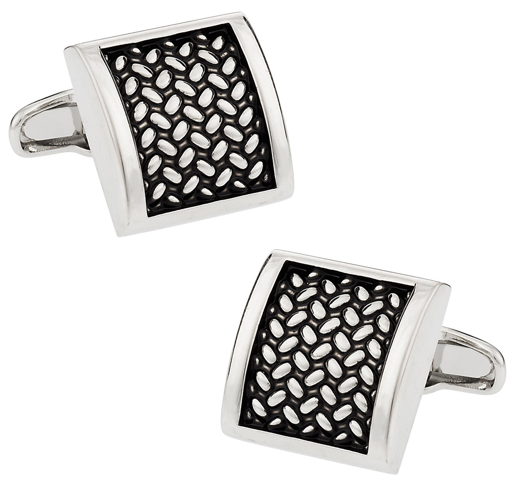 Michael Soho Design Tactile Cufflinks