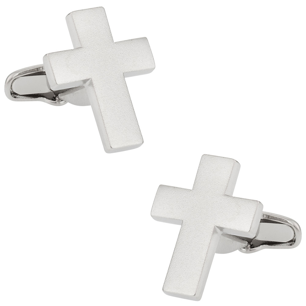 Classic Cross Cufflinks