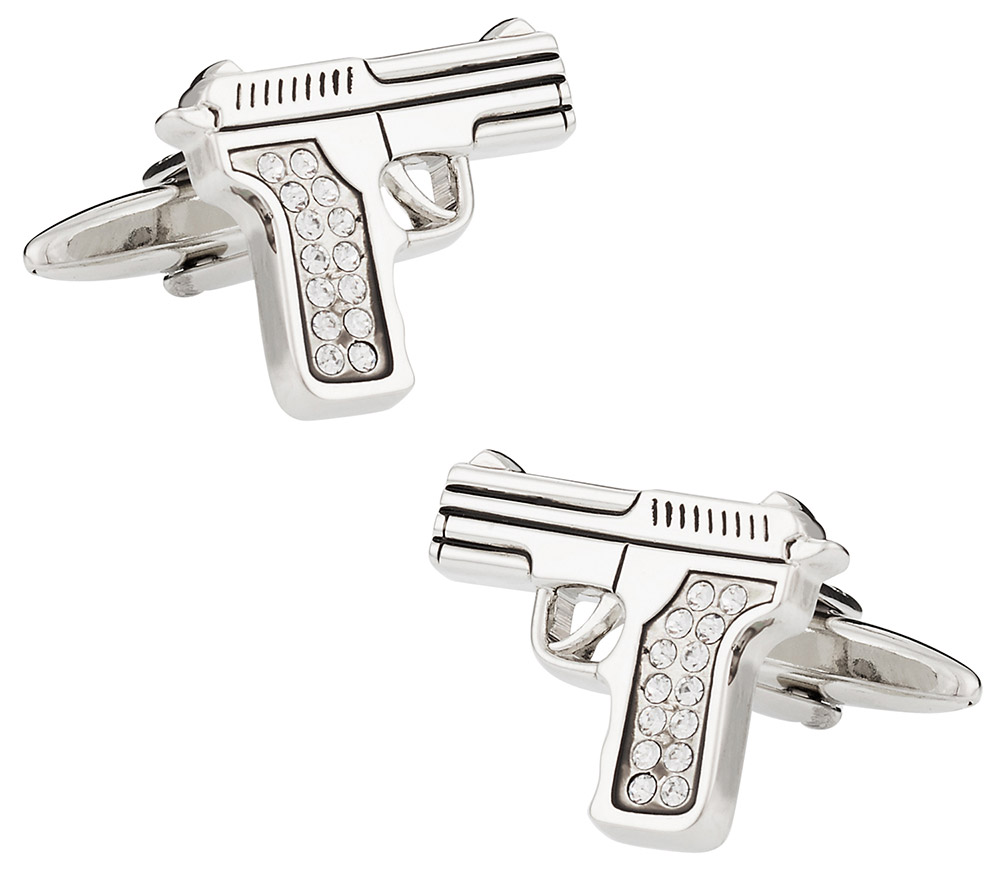 Crystal 9mm Cufflinks
