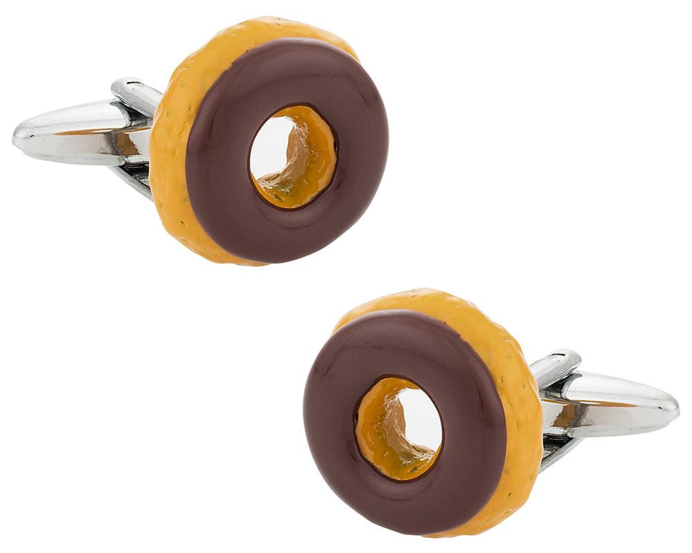 Doughnut Cufflinks