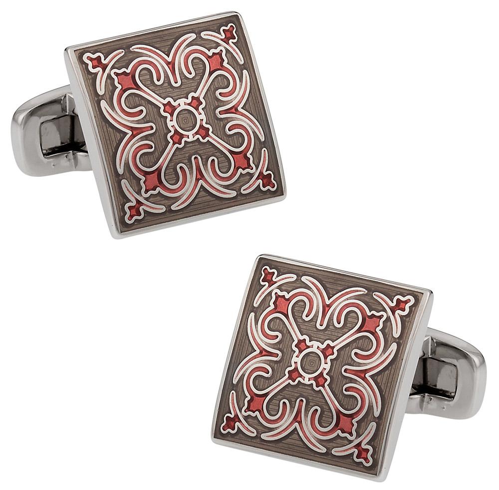 Layered Enamel Cufflinks   Canada Cufflinks