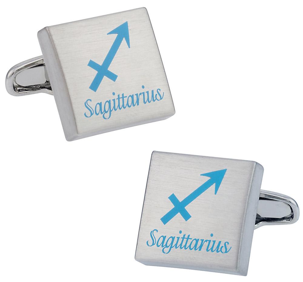 Sagittarius Horoscope Cufflinks
