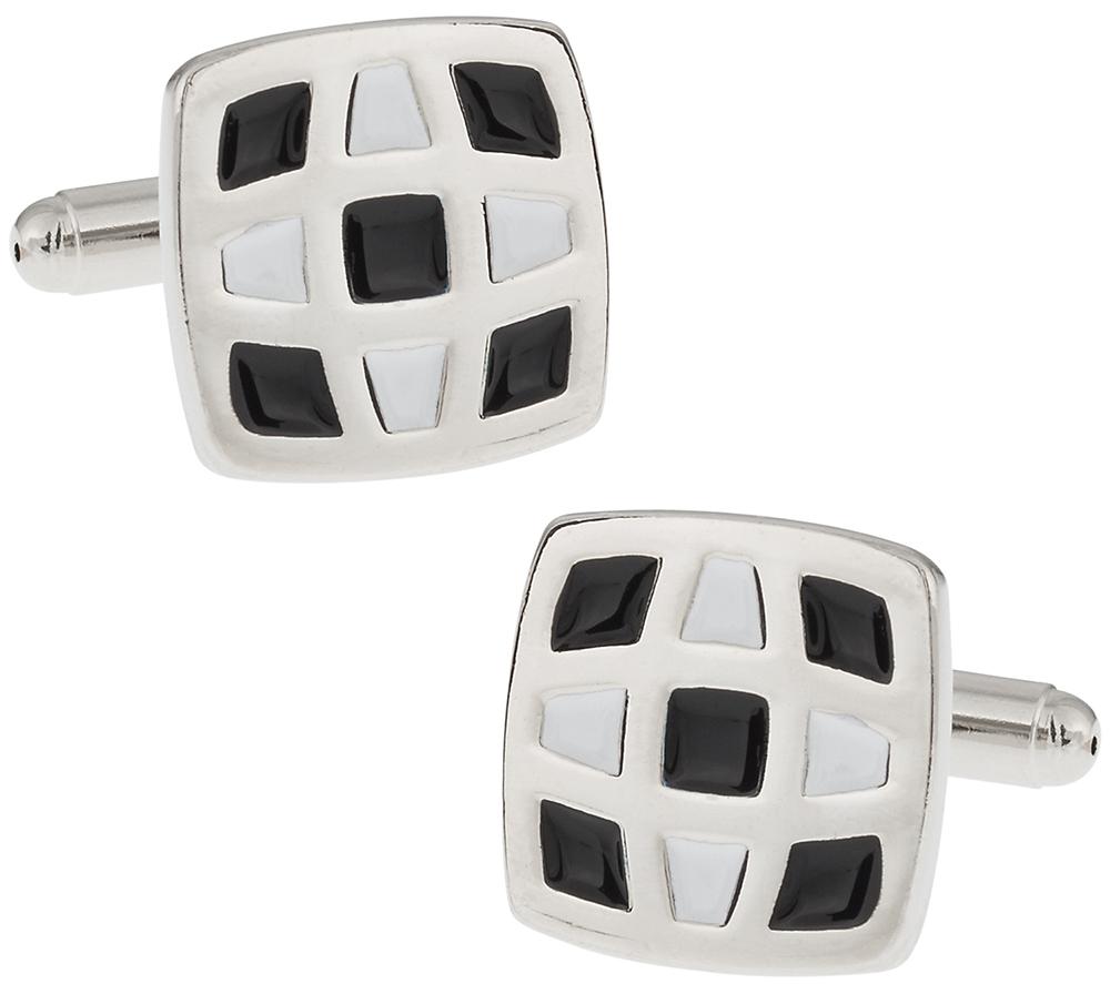 Unique Enamel Cufflinks