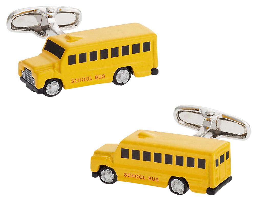 Bus Cufflinks