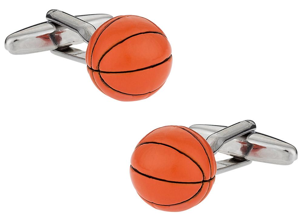 3D Basketball Cufflinks