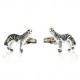 Zebra Cufflinks   Canada Cufflinks