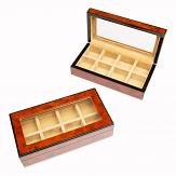 8 Pair Distinguished Cufflink Box