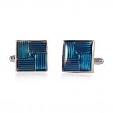 Pinwheel blue Cufflinks