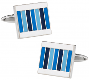 Pinstriped Cuff links