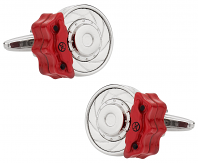 Racing Disc Brake Cufflinks | Canada Cufflinks