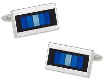 Prismatic Blue Cufflinks