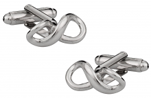 Infinity Silver-tone Cufflinks | Canada Cufflinks