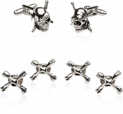 Formal Set With Pirate Skulls and Swords