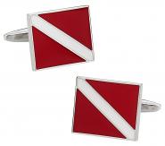 Diver's Symbol Cufflinks
