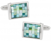 Green Mother Of Pearl Mosaics