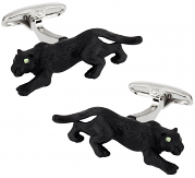 Painted Panther Cufflinks