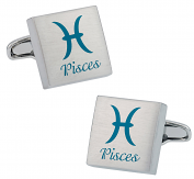 Pisces Zodiac Sign Cufflinks