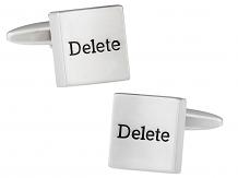 Delete Key Cufflinks