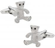 Women's Teddy Bear Cufflinks