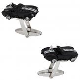 Black Cobra Race Car Cufflinks