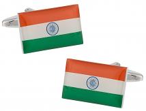 India Flag Cufflinks
