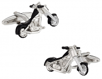 Chopper Motorcycle Cufflinks