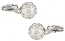 Swarovski Crazy Pearl Cufflinks in White