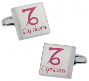 Capricorn Zodiac Sign Cufflinks