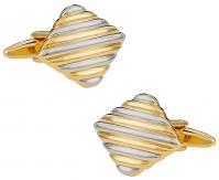 Unisex Two-Tone Cufflinks