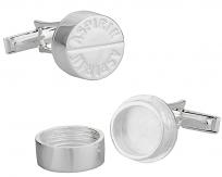 925 Sterling Silver Aspirin Cuff Links