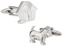 Doghouse & Dog Cufflinks