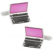 Laptop Computer Cufflinks