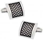 Michael Soho Design Tactile Cufflinks
