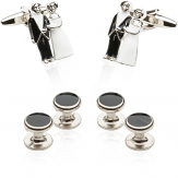 Bride & Groom Cufflinks and Studs | Canada Cufflinks