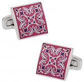 Details in Fuschia Pink | Canada Cufflinks