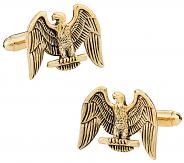 Gold Eagle Cufflinks