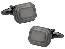 Gun Metal Engravable Cufflinks