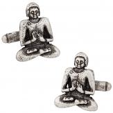 Buddhism Buddha Cufflinks