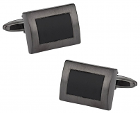 Black Gun Metal Cufflinks