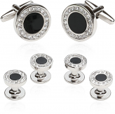Formal Set in Onyx and Cubic Zirconia
