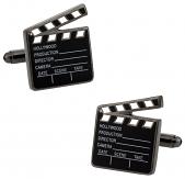 Hollywood Clapper Board Cufflinks | Canada Cufflinks