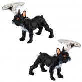 Painted French Bulldog Cufflinks
