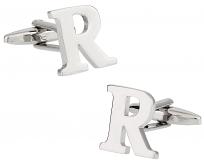 "Letter ""R"" Cufflinks"