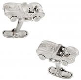 Cobra Silver Cufflinks
