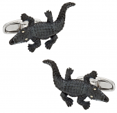 Alligator Cufflinks | Canada Cufflinks