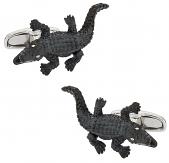 Alligator Cufflinks | Canada Cufflinks