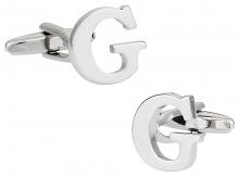 "Letter ""G"" Cufflinks"