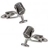 Microphone Cufflinks