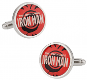 Iron Man Red Cufflinks