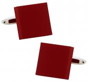 Bold Red Cufflinks | Canada Cufflinks